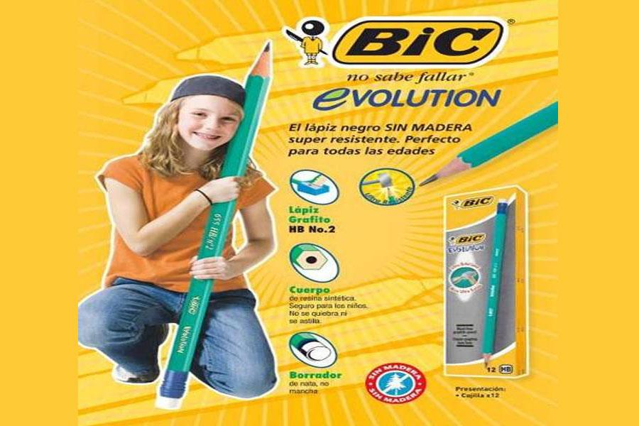 Lápiz Bic Evolution