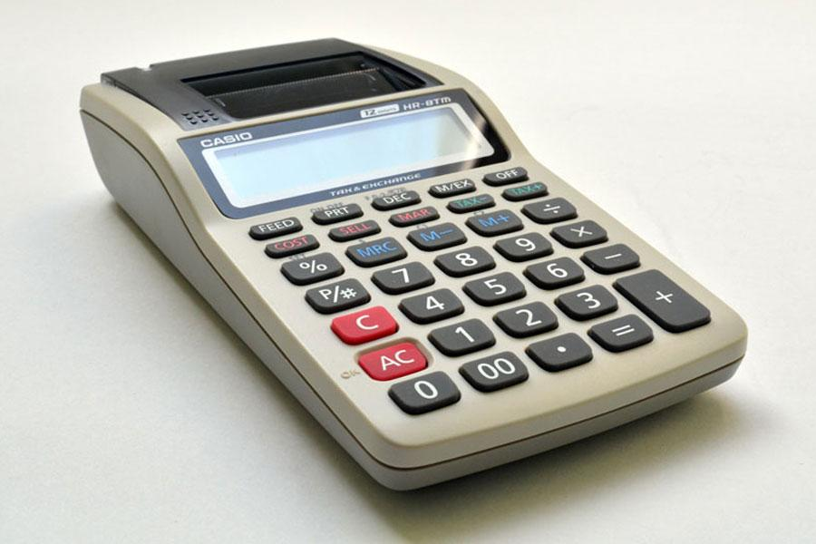Calculadora Casio HR8