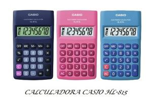 Calculadora Casio 815